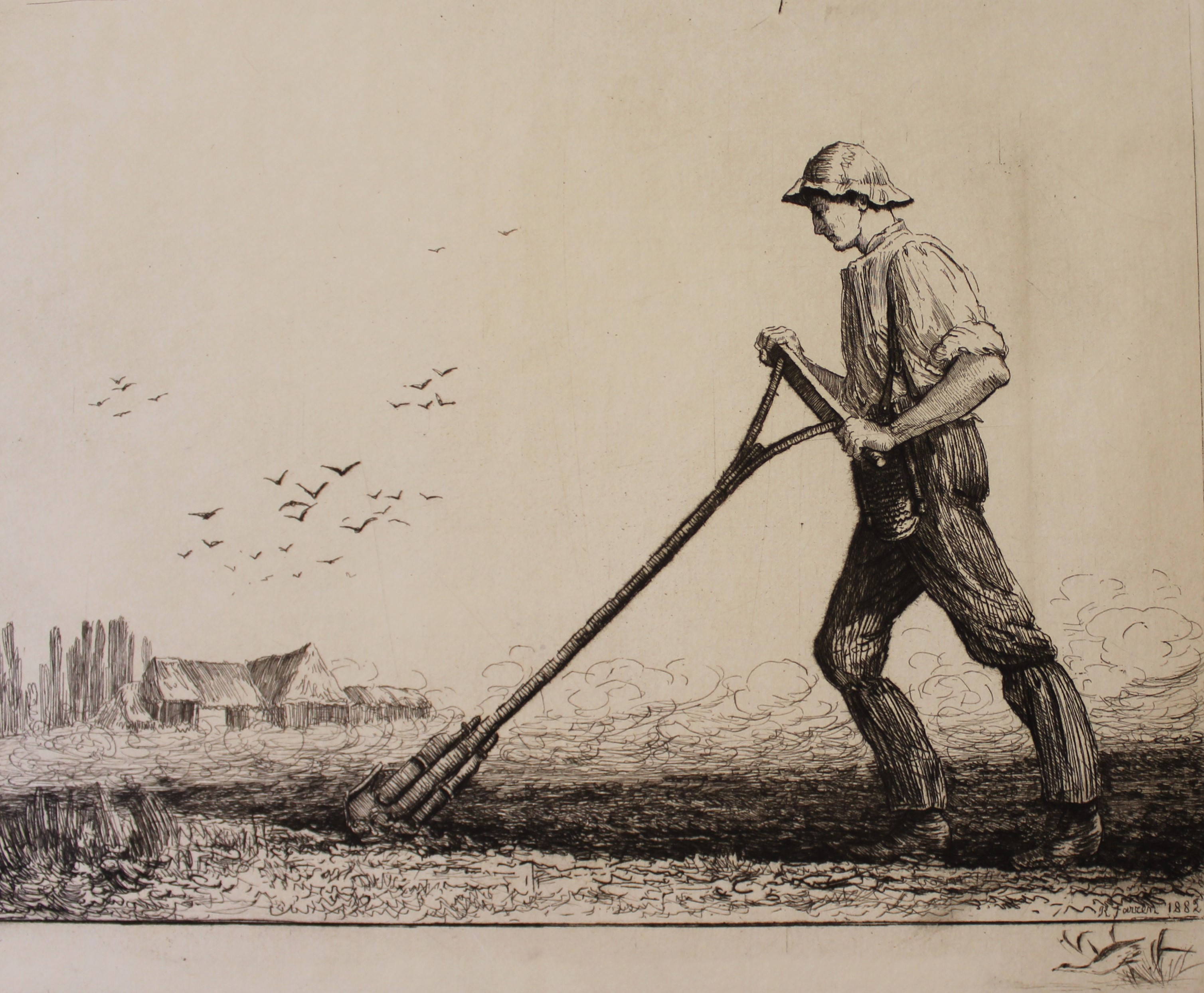 Hand-Ploughing