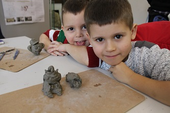 Children's clay activity