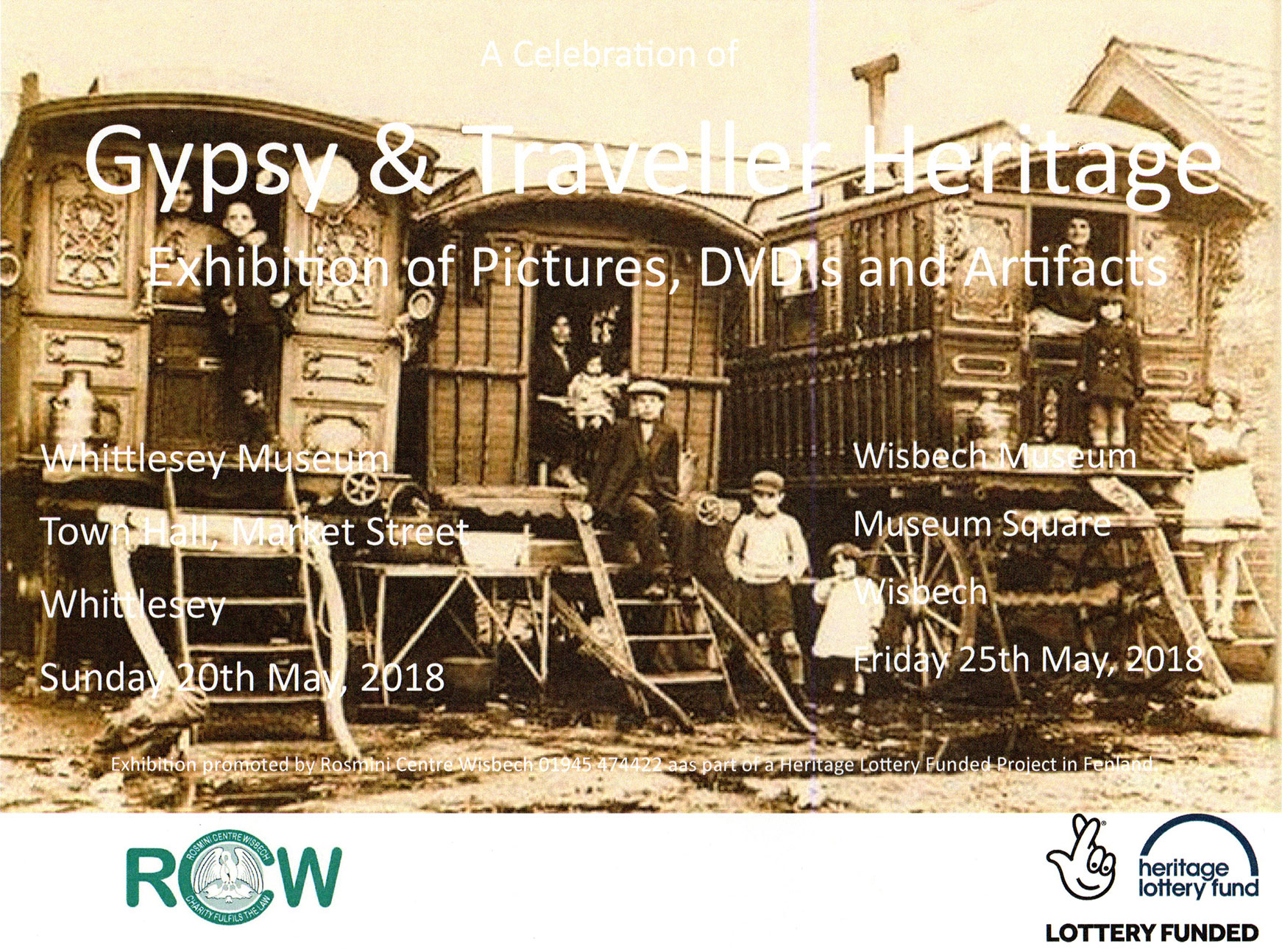 Rosmini Centre's Gypsy/Traveller Heritage - Touring Exhibition