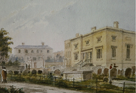 Painting of the museum
